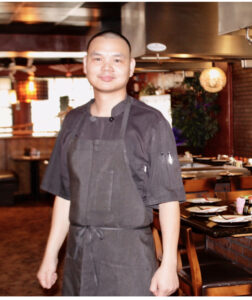 Meet Bao Feng, Shogun's lead kitchen chef. He has been with us since day one. You won't often see him on the floor, but just know he is busy in the kitchen making the magic happen!
